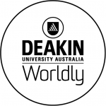 Logo of Deakin University