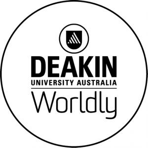 Logo of Deakin University