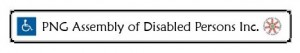Logo for PNG Assembly of Disabled Persons (PNGADP)